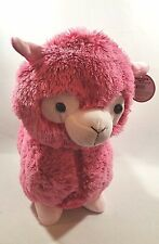 "15"" pink DOLLY LLAMA large plush stuffed animal Brand New!! With Tags Fluffy"