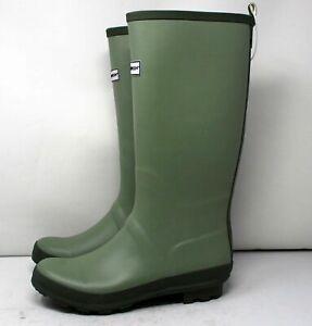Shoe Women's Size 8 Green Tall Rain Boots Garden Outdoor Smith & Hawken