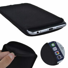Black Carry Soft Elastic Sleeve Case Cover Pouch Bag For iPhone X 8 7 6S Plus