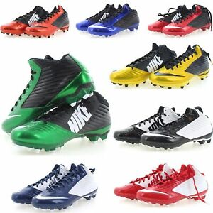 Nike Football Cleats Vapor Speed TD Molded Mid Top Men's Athletic Cleat 643155