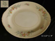 "Homer Laughlin Ferndale OVAL SERVING PLATTER 11.5"" have more items to set"