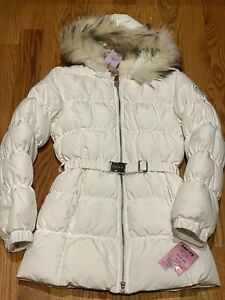 Deha Winter Down Coat With Real Fur Hood Size Xxl New!