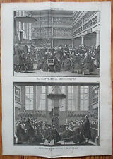 Picart Ceremony Religion Baptism Mennonites- 1732