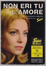 SOGNO MENSILE 9 NON ERI TU L' AMORE photostory fotoromanzo 1965 rosanna galli