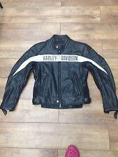 Harley Davidson Cuero Chaqueta Medio