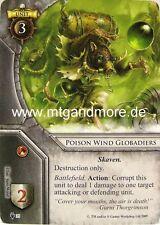 Warhammer invasion - 1x poison vent globadiers #035