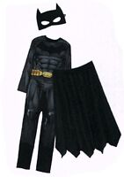 Batman Kostüm Fledermaus Gr. M (48/50) 3-teilig Fasching Karneval Verkleidet