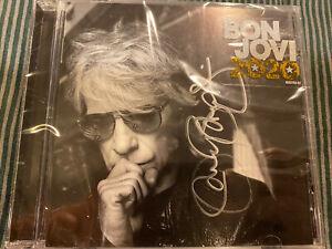 "Bon Jovi ""2020"" Autographed CD."