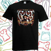 The Cult Electric Tour Skull Logo Men's Black T-Shirt Size S to 3XL