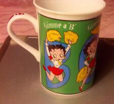 "Betty Boop ""Gimme A Boop"" Danbury Mint Collector's Mug"