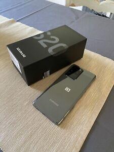 Samsung Galaxy S20 Ultra 5G SM G988B/DS 128 Go Cosmic Grey (Désimlocké) Com NEUF