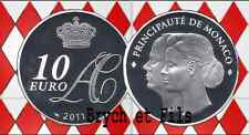 2011 MONACO BE 10 EURO MARIAGE PRINCE ALBERT & CHARLENE 4000 EXEMPLAIRES