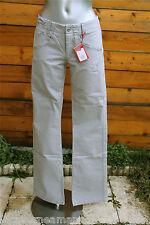jeans gris stretch MARITHÉ FRANCOIS GIRBAUD amerikass T 34 (24) NEUF DF