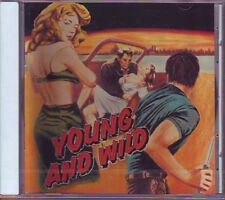 V.A. - YOUNG AND WILD - Buffalo Bop 55017  Rock CD