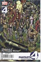 Fantastic Four Comic Issue 562 Modern Age First Print 2009 Mark Millar Hitch