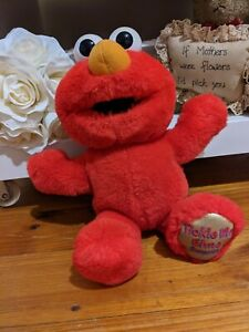 Tickle Me Elmo Surprise 2000 Toy Doll Talk Mattel Fisher Price