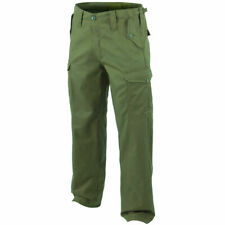 Highlander Heavy Weight Military Pants Mens Army Combats Cargo Trousers Olive OD