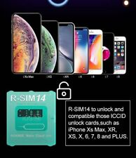 R-SIM14 Nano Unlock RSIM Card Für iPhone 11 Pro XS MAX XR 8 IOS 14 AH S9