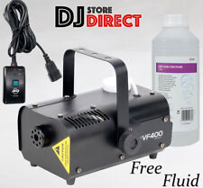 ADJ VF400 400W High Output DJ Fog Smoke fogger Machine DJ Party + 1 LTR FLUID