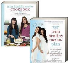 Trim Healthy Mama Plan & Cookbook (pb) by Pearl Barrett and Serene Allison 2 Bks
