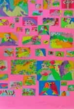 "Walasse Ting 丁雄泉 ""Things i Like"" 1995 Firmado a Mano Serigrafía China / Us"