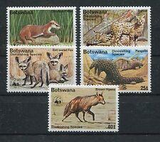 Botswana 182/86 postfrisch / WWF ..........................................1/589