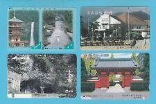 TELEPHONE CARDS  -  JAPAN  -  4  VARIOUS  JAPANESE  TELEPHONE  CARDS     ( E )