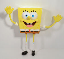 "RARE 7.5"" Spongebob DecoPac Bendy Bendable Action Figure 2006 Cake Topper 16560"