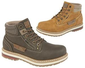 Mens Lace Up Fashion Sporty Casual Walking Trail Hiking Ankle Boots Shoes Size
