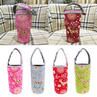 4x Insulated Neoprene Water bottle Holder Bag Pouch Cover For 30oz Tumbler
