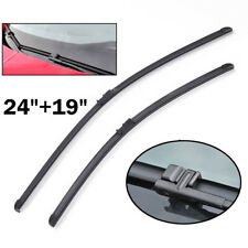 Front Window Windshield Wiper Blades Fit For Audi A3 VW Caddy Jetta Golf 2004