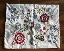 Ikea Cushion Cover / Pillow Case Embroidered Alvine Flora