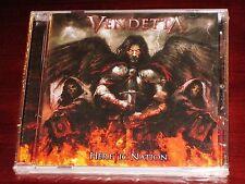 Vendetta: Heretic Nation CD 2009 Lion Music Finland LMC269 NEW