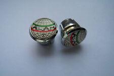 new Alan globe Handlebar End Plugs, plug Bar End Caps very rare vintage 3D