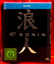 47 RONIN Blu-Ray Germany Limited Edition STEELBOOK Glossy Embossed NEW
