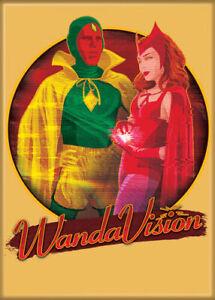 WandaVision Photo Quality Magnet: Wanda & Vision Halloween