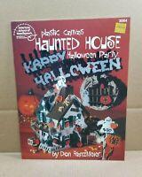 Vintage ASN Haunted House Halloween Party Plastic Canvas Pattern 3064 Leaflet