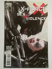 X-FORCE SEX & VIOLENCE #2 GABRIELE DELL'OTTO ART COVER VF/NM 1ST PRINTING DOMINO