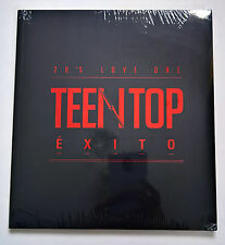 TEEN TOP 5th Mini Album EXITO Korean Press  CD + Photobook + Photocard - Sealed