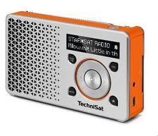 TechniSat DIGITRADIO 1 DAB+ Radio 0003/4997, silber/orange , neu OVP