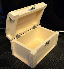 1 Unfinished Small Wood Craft Display Trinket Storage Box Or even Small Pet Urn