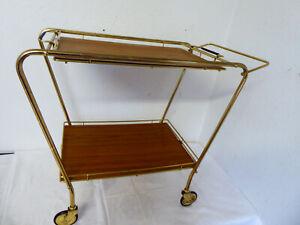 Barwagen Servierwagen Teewagen  50er Jahre