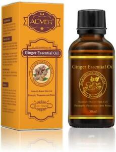 Aliver Ginger Root Blood Circulation Aromatherapy Soothing Care Essential Oil