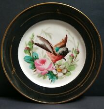 Victorian Hand Painted Porcelain Plate c.1860