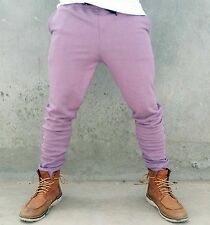 Mens Skinny Track Pants Trackies leg Harem Fleece Sweat Camo Black Dance Gym