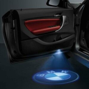 BMW Genuine LED Door Projector Set For Most Models - 63312414105