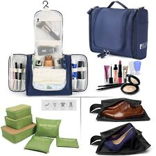 6Pcs Pouch Bag Luggage Organizer For Travel & Business + Cosmetic Bag+ Shoes Bag