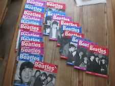 BEATLES MONTHLY  NOS 8 ONWARDS (21 TOTAL) AS LISTED- MOSTLY VERY GOOD ORIGINALS