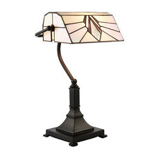 Interiors 1900 Astoria bankers tiffany table lamp 25W E27 GLS