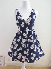 SANRIO Hello Kitty Floral Dress Lolita Hime Gyaru Kawaii Very Cute (a237)